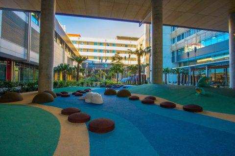 Sunshine Coast University Hospital Main Courtyard Landscape Queensland Award Winner 2017