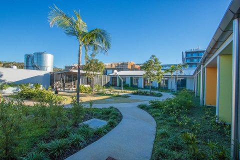 Sunshine Coast University Hospital Mental Health Unit Courtyard